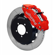 Wilwood For Toyota/scion Frs 2012-up Brake Kit Front Hat Kit 12.88 Inches Red