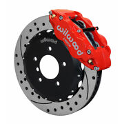 Wilwood For Bmw M3 E36 Brake Kit Narrow Superlite 6r Front Hat 13.06 In Drilled
