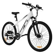 350w Electric Mountain Bike 27.5and039and039 Sturdy Fat Tires Bicycle For Adults E-bike Us
