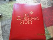 Hallmark-1st In Series-the Christmas Story-1993-by Denise Johnson-red Leather