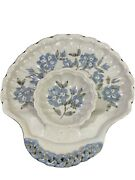 Cindy Angliss Signedhandcrafted Chip Nand039 Dip Serving Piece 12.75 Long X 12 Wide
