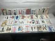 Lot Of 115 Simplicity Mccalland039s Butterick Vogue Womenand039s Sewing Patterns Uncut