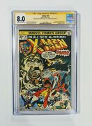 🔥 X-men 94 Cgc Ss 8.0 Marvel1975 1st New Team - Signed By Claremont Mcleod