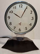 Rare Vintage Rex Cole Inc Boots Boy Mystery Clock Model 5-a Works