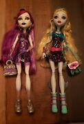 Monster High Ghouls Night Out - Lagoona Blue And Spectra Vondergeistdolls