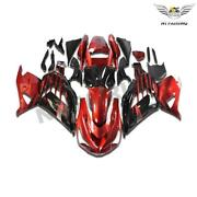 Woo Injection Red Black Fairing Fit For Kawasaki Zx14r Zzr1400 2012-2015 A007