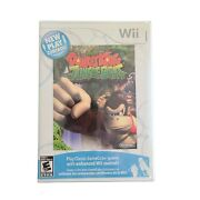 Sealed New Play Control Donkey Kong Jungle Beat Nintendo Wii New Factory Seal.