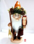 Christian Ulbricht Dwarf Gnome Forest Ghost Germany Natural Incense Smoker Gift