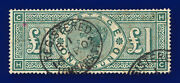 1891 Sg212 Andpound1 Green K17 Hc Lombard St 16 Ap 02 Good Used Cat Andpound800 Dhey