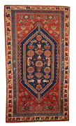 Handmade Antique Oriental Rug 3.2and039 X 5.9and039 97cm X 180cm 1920 1b223