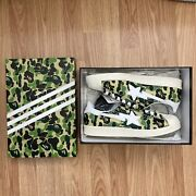 Adidas Superstar Bape Abc Camo Green - Size 11