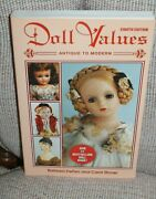 Doll Values Antique To Modern Eighth Edition New Fast Shipping