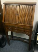 Rare Antique Wooden Optical Lens Cabinet With Trial Lens Set- A Collectorand039s Item