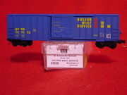 Mtl 25520 Golden West Service 50and039 Rib Side Box Car 767062 And039newand039 N-scale