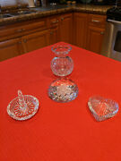 Lot 4 Pieces Waterford Crystal Assorted Items Excellent Condition Gifts