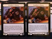 Flesh And Blood Crucible Of War 1x Cold Foil Gamblers Gloves Nm/m 2 Available