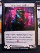 Flesh And Blood Crucible Of War 1x Cold Foil Viziertronic Model I Nm/m