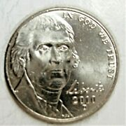 2010 D Jefferson Nickel - Bu Coin Pulled From Obwandnbsproll