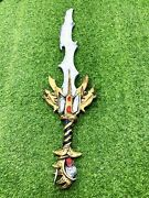 New Foam Sword Knight War Weapon Cosplay Broadsword Kids Toy Costume Accessory