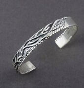 Fine Jewelry 18 Kt Hallmark Real Solid White Gold Menand039s Cuff Bracelet 22 Grams