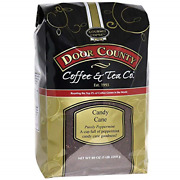 Door County Coffee Holiday Seasonal Blend Candy Cane Peppermint Flavored 5lb