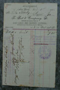 Antique 1886 Statement On Best And Co Letterhead-new York City-childrens' Clothing