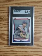 2010 Gerrit Cole Topps Usa-25 True Rc Sgc 9.5 Sp Al Pitcher Of The Month Hot 🔥
