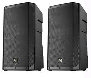 Electro-voice Elx200-12p 1200w 12 2-way 1200w Class D Powered Speakers - Pair