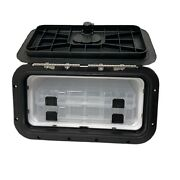 Innovative Product Solutions 530-039 8 X 14 Black Boat Tackle Center