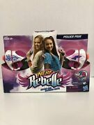 Nerf Rebelle Step Up Stand Out Power Pink 4 Collectible Darts Blaster Aim Fire