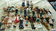 Huge Bratz Doll Lot 25 Dolls + Lots Of Clothes And Accessories 2001