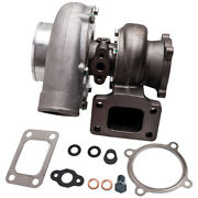 Universal Gt35 Gt3582 A/r 0.70 Anti-surge 4 Bolts Turbo Charger W/ Gasket