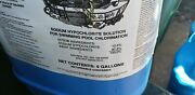 5 Gallon Carboy Sodium Hypochlorite 12.5 For Swimming Pool , New,local Pickup