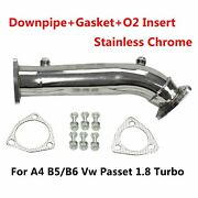 Fits 97-05 Audi A4 B5 B6/passat 1.8t High Flow Downpipe/exhaust Converter Piping
