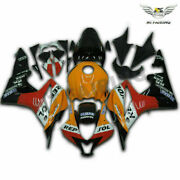 Woo Injection Yellow Red White Black Fairing Fit For Honda 07-08 Cbr600rr W060