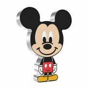 Chibiandtrade Coin Collection Disney Series Mickey Mouse 1oz Silver Coin In Hand