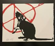 Blek Le Rat - The Anarchist - Signed And Numbered Sold Out Edition