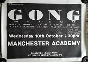 Gong/daevid Allen - Original Concert Tour Poster 1990 Signed By All The Band