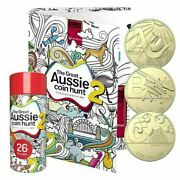 2021 Great Aussie Coin Hunt 2 A To Z 26 Coins Complete Full Set In Tube Album
