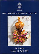 Adreas Thies Auction Catalog 29 - 11 And 12 April 2006 - Large Format 9 1/2 X 7