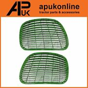 Bonnet Side Grille Grill Lh And Rh Set For John Deere 6820 6920 7220 7320 Tractor