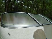 Glastron Mx-175 Starboard Front Curved Windshield This Single Piece Only