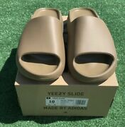 Adidas Yeezy Slide Core Gw5350 Menandrsquos Size 10 In Hand