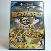 Wario World Nintendo Gamecube 2003 Look Free Same Day Shipping