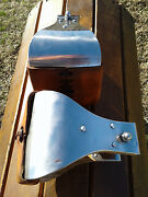 5 Stainless Monel Bell Ranch Roping Saddle Stirrups