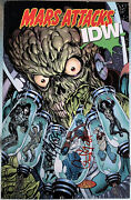 Signed Copy Mars Attacks Idw Trade Paper Signed By Byrne And O'grady Brand New