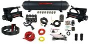 3/8 Complete Air Management W/ Airmaxxx 580 Black Compressor And Evolve Manifold