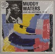 Muddy Waters Live In Antibes 1974 Franceand039s Concert Chicago Blues Lp Nm