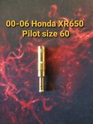 00-06 Honda Xr650r Size 60 Pilot Jet Brand New Easy Starts Awesome Idle