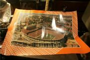 Tennessee Vols Volunteers 1980and039s Neyland Stadium Go Vols Poster Sealed 18 X 24